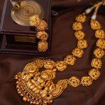 Lakshmi Gold Look Alike Nagas Haram Necklace