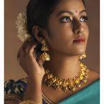 Beautiful Temple Jewellery from Narayana Pearls