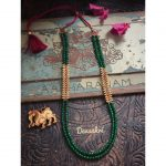 Long Beaded Necklace by Aabharanam