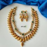 Matte Gold Alike Cutwork Necklace