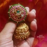 Traditional Gold Plated Jhumka by Silver Sasthi