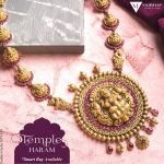 Traditional Temple Haram Set by Vaibhav Jewellers
