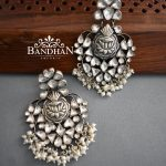 Pure Silver Earrings by Bandhan Emporio