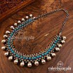Antique Silver Necklace by Nakoda Payals