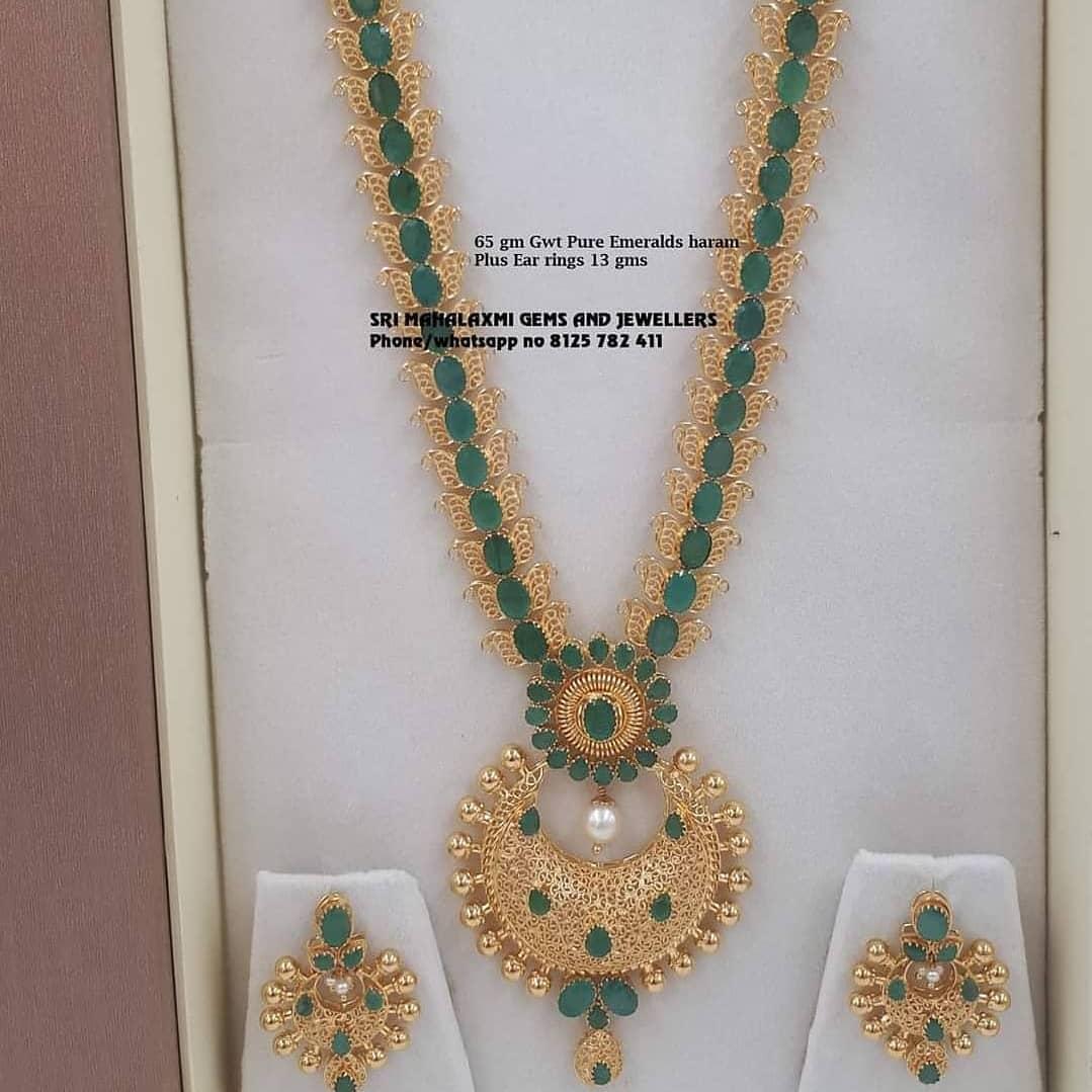 beautiful-long-necklace-earrings