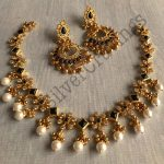 Kemp and Pearl Necklace Set
