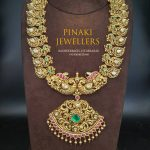 Kundan Nakshi Mango Necklace