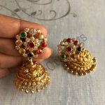 Multicolor Jhumkas Earrings