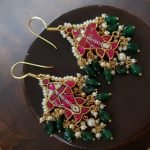 Antique Jhumkas by Ms Pink Panther