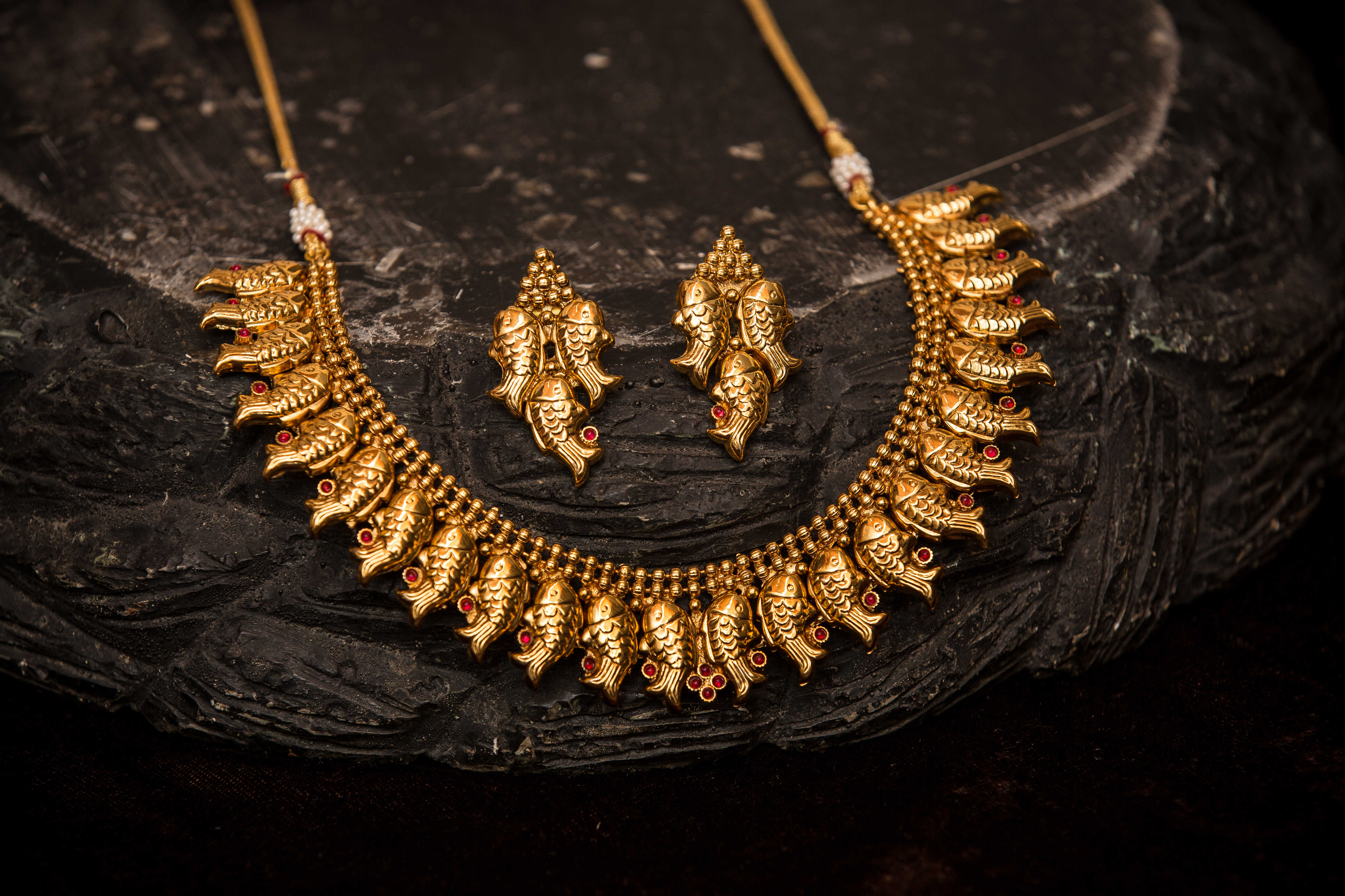 2-Imitation-peacock-necklace-and-earrings3