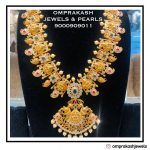 Beautiful Lakshmi Haram Necklace