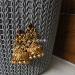Imitation Ganesh Coin Jhumkas