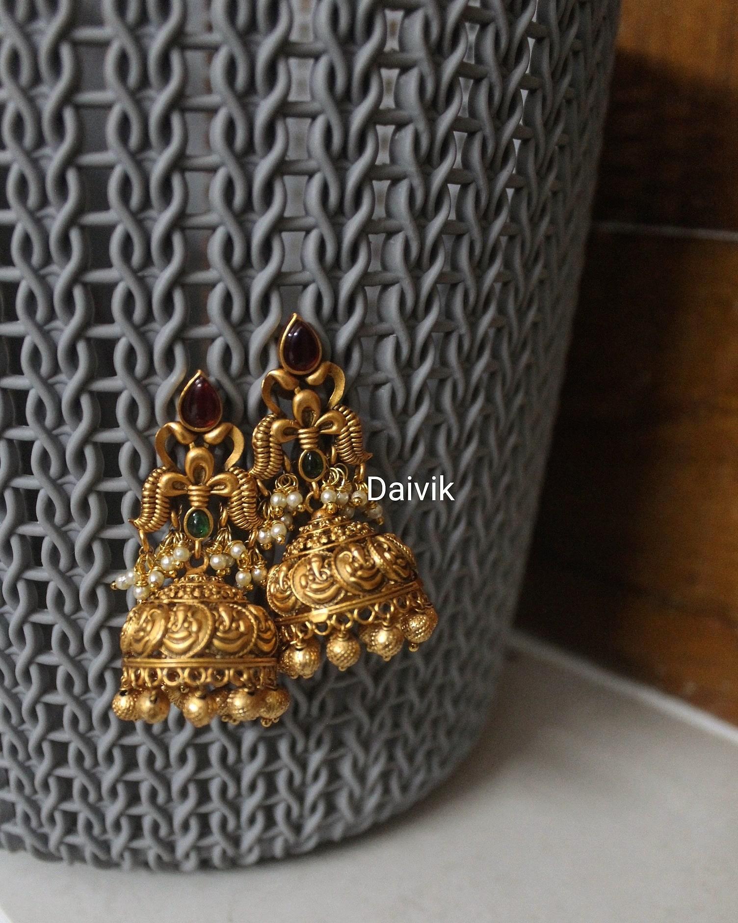 Imitation-Ganesh-Coin-Jhumkas-01
