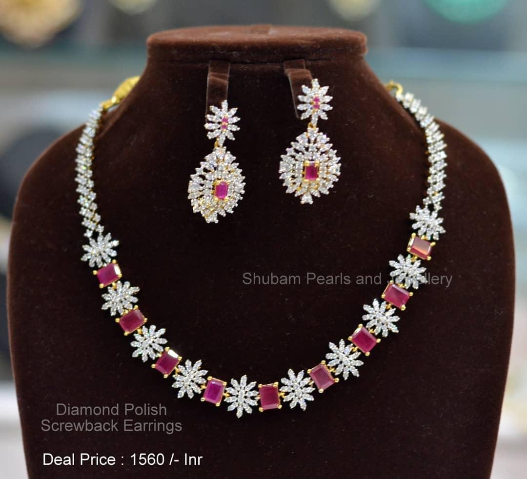 diamond-lookalike-imitation-necklace-set