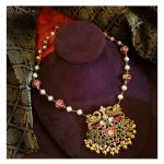 Handmade Traditional Silver and Pearl Necklace