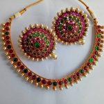 Kemp Stone Choker Necklace Set