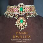 Kundan and Multicolor Stones Choker