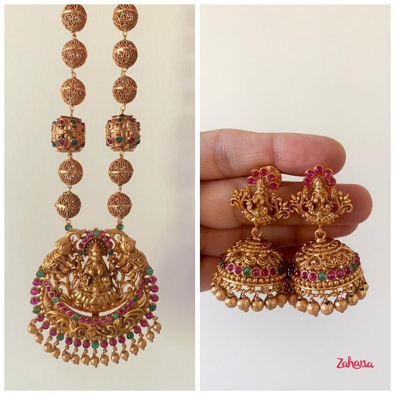 lakshmi-chaand-mala-matte-set