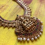 Lakshmi Nagasu Coin Haram Necklace