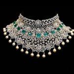 Premium Huge Choker Bridal Necklace