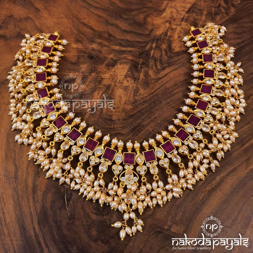 pure-silver-necklace-with-22kt-gold-polish
