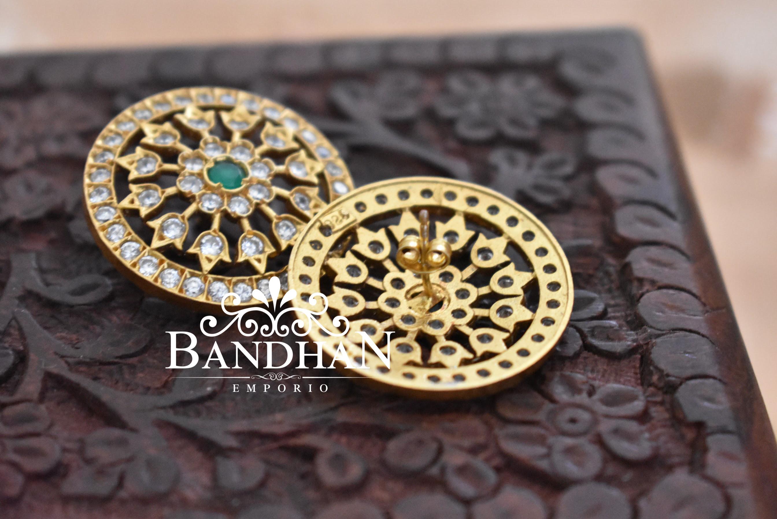 stone-stud-earrings
