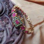 Traditional Ruby Bangle by Rimli Boutique
