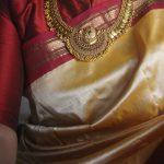 Antique Premium Coin Half Moon Pendant Necklace