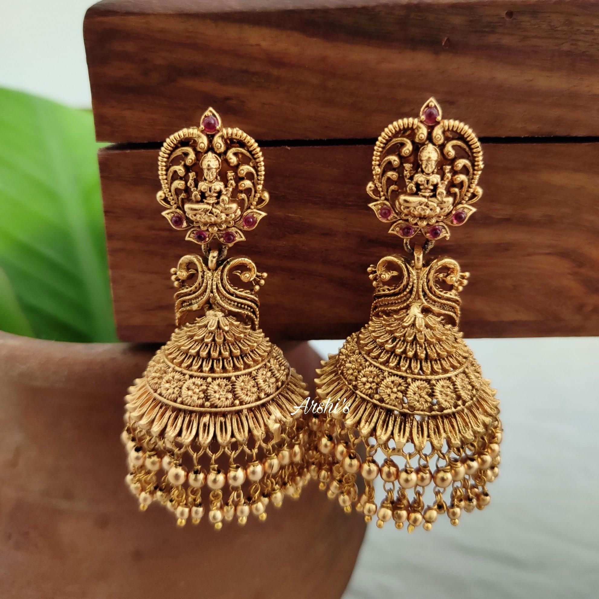 Imitation-Gold-Drops-Lakshmi-Jhumkas-01
