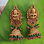 Imitation Heavy Nagas Lakshmi Jhumkas