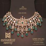 Polki Diamond Emerald Choker Necklace