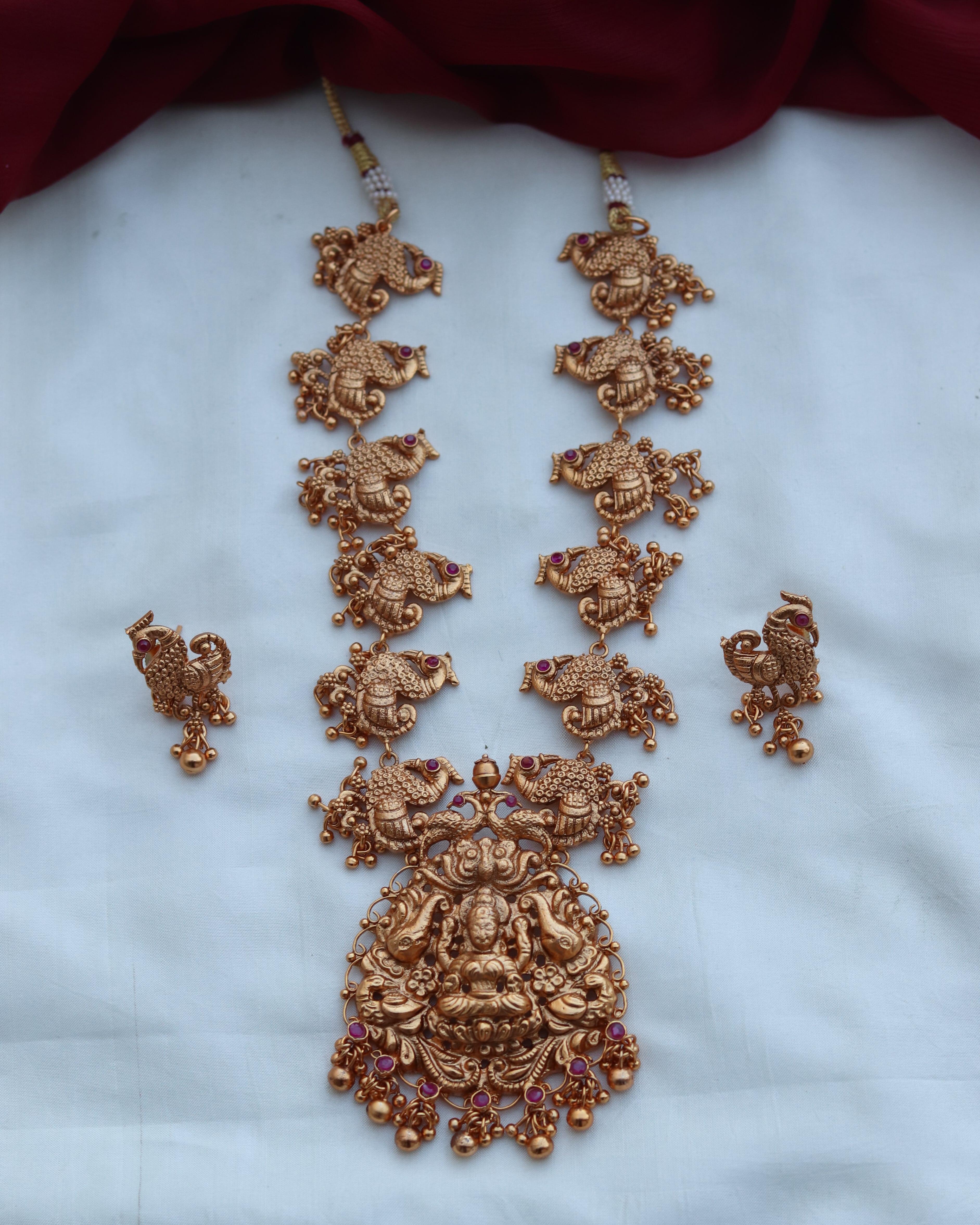 Temple-Peacock-Necklace-Set-01