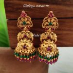 Traditional Antique Wedding Jhumka