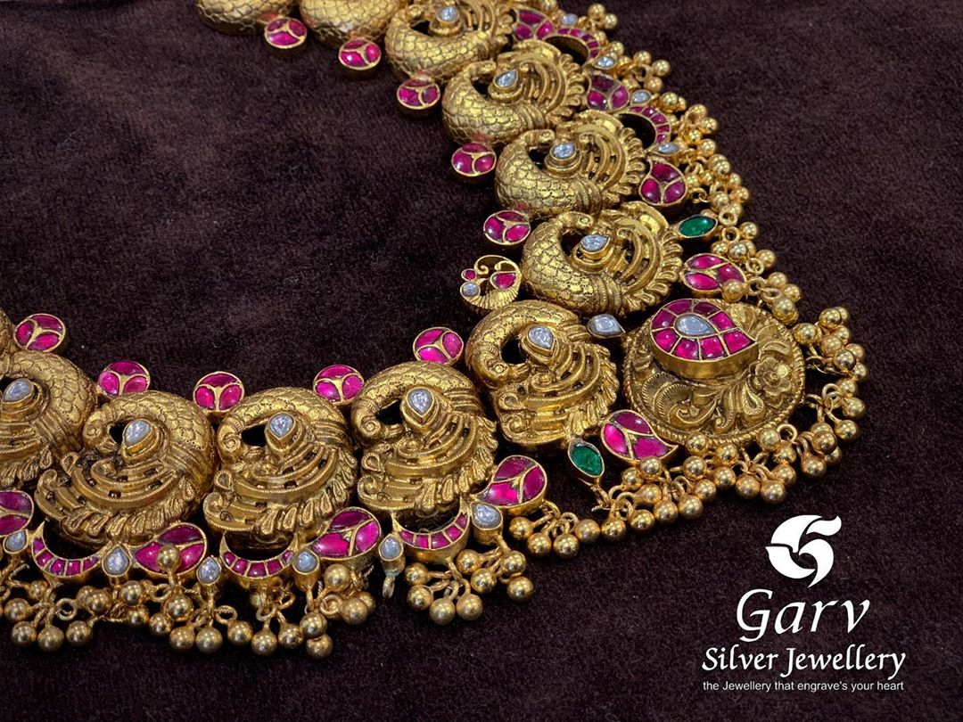 gold-plated-silver-temple-necklace