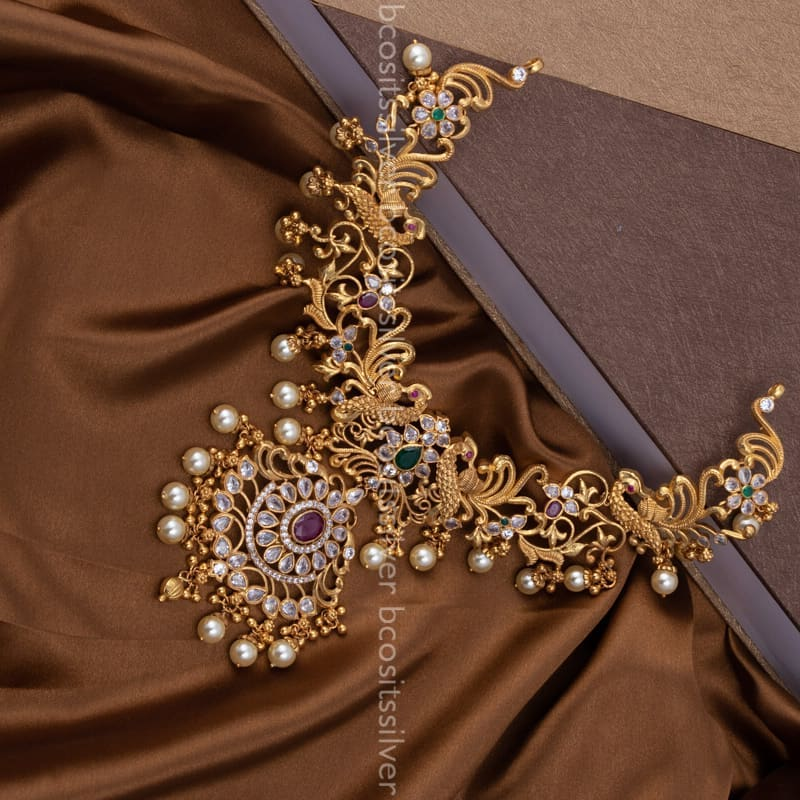 golden-plated-silver-necklace