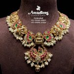 Lakshmi Gold Pearls Necklace