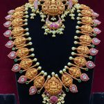 Lakshmi Temple Haram Necklace