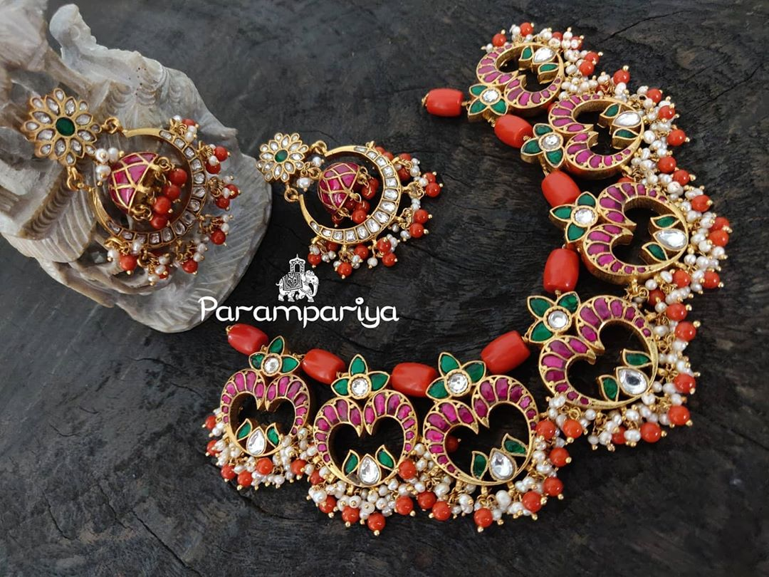 pure-silver-kundan-beads-necklace-set