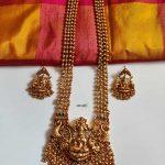 Four Layered Bridal Lakshmi Haram