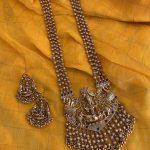 Imitation Goddess Lakshmi Long Haram