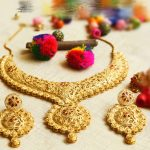One Gram Gold Grand Look Wedding Necklace