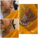 Unique Lakshmi Guttapusalu Earrings
