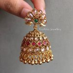 Beautiful CZ Jhumkas