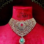 Diamond Emerald And Ruby Necklace