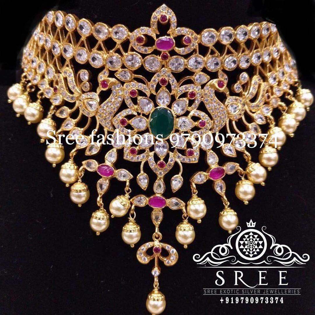 gold-plated-grand-choker-necklace