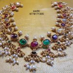 Gold Plated Guttapusalu Necklace