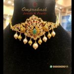 Two In One Pearl Choker And Bajubandh