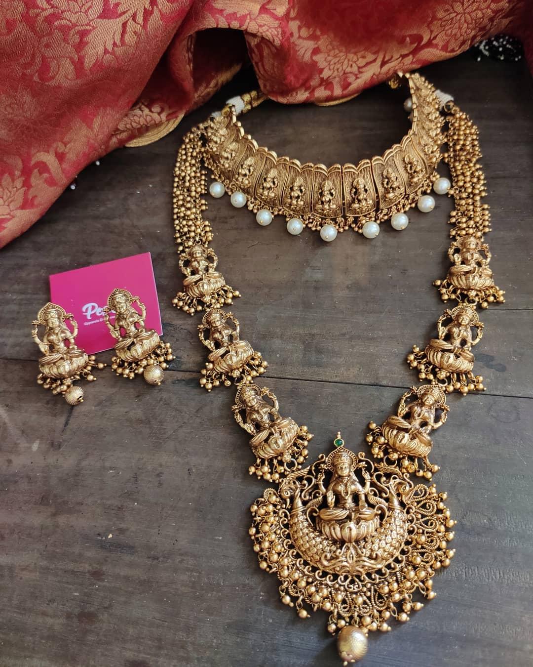 semi-bridal-temple-necklace-set