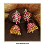 Silver Gold Plated With Kundan Stones