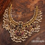 22kt Gold Polish Pure Silver Necklace